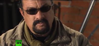 Интервью Стивена Сигала каналу RT от 10 ноября 2013 года